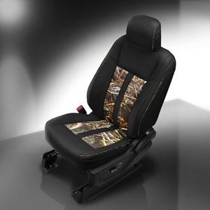 Katzkin Leather for F-150 feauturing Realtree Kamo Inserts