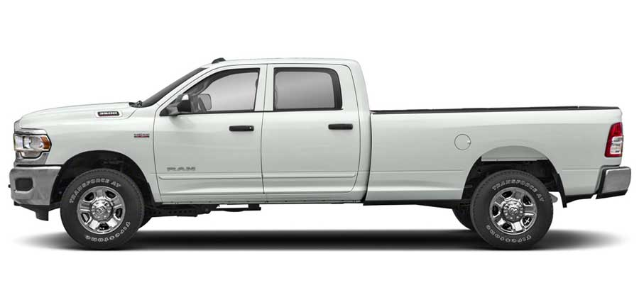 Dodge Ram 2500 / 3500 Painted Body Side Moldings