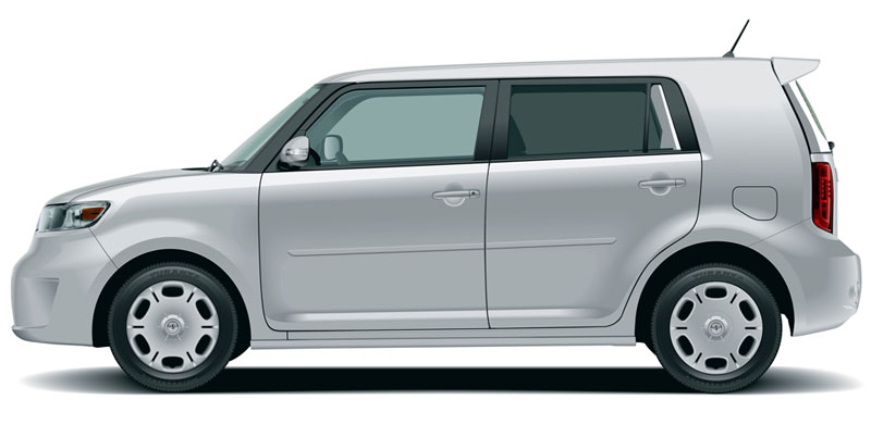 Scion XB Painted Body Side Moldings
