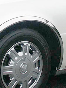 Polished Chrome Fender Trim