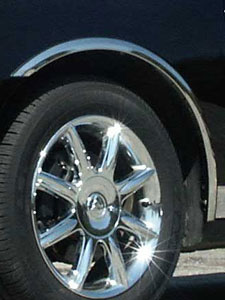 Chrome Automotive Fender Trim