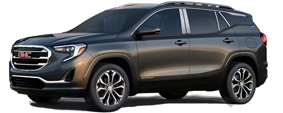 GMC Terrain Chrome Pillar Post Trim