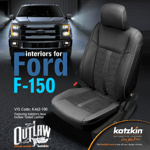 Katzkin Leather for Ford F-150