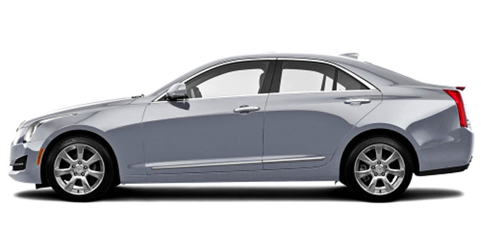 Cadillac ATS Chrome Lower Door Accent Moldings
