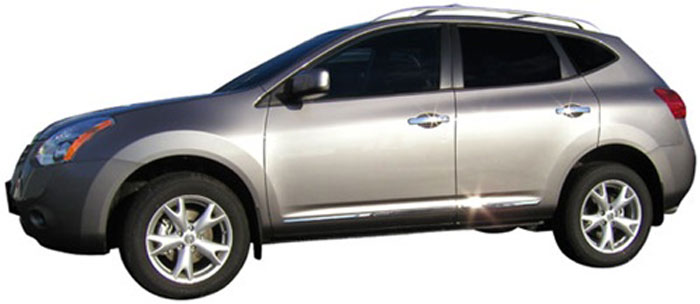 Dawn Enterprises LCM-R156 Lower Chrome Molding Compatible with Nissan Rogue