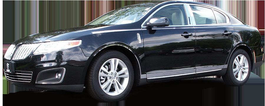 6pc Luxury FX Chrome Pillar Post Set for 2009-2016 MKS