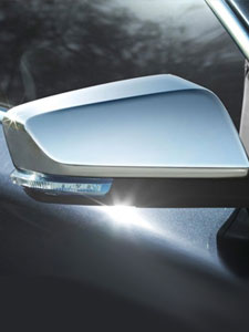2 Chrome FULL Mirror Covers For 2008-2010 2011 2012 2013 2014 2015 DODGE Avenger