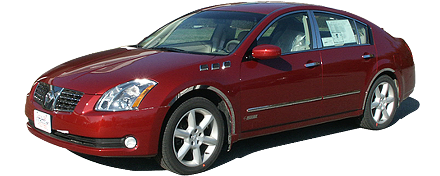 Nissan Maxima Window Trim Package