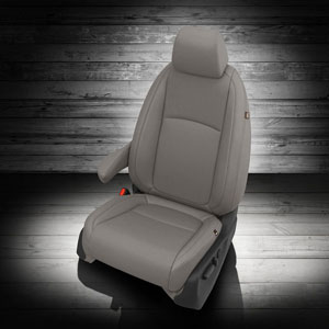 Katzkin Leather replacement seat upholstery for the Honda Odyssey