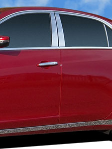 Chrome Pillar Trim