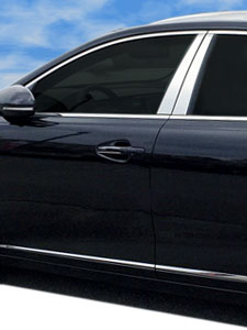 Chromed Stanless Steel Rocker Panel Trim