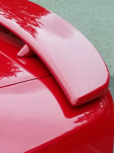 Painted Car Spoilers