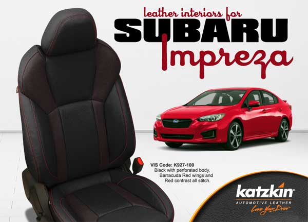 Katzkin Leather for Subaru Impreza