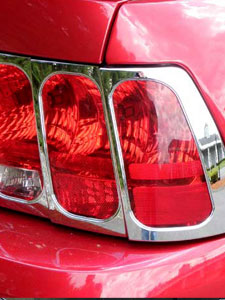 Chrome Tail Light Bezels
