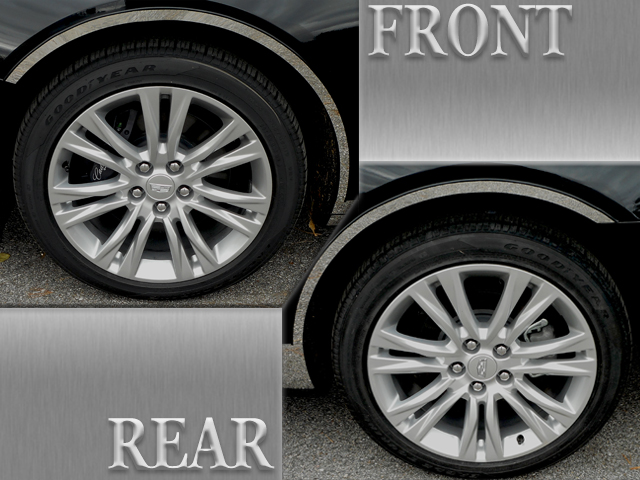 Cadillac XTS Chrome Fender Trim