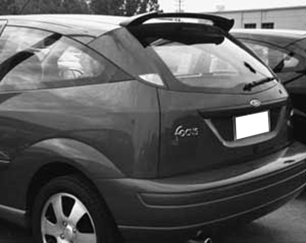 Ford Focus Zx3 Zx5 Roof Mount Painted Rear Spoiler 2000