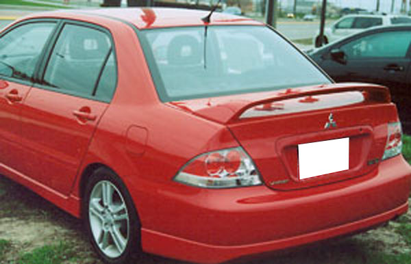 Mitsubishi Lancer Ralliart Painted Rear Spoiler 2004 2005 2006