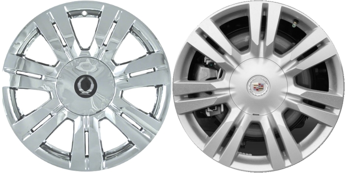 cadillac srx chrome wheel covers 2010 2011 2012 2013. Black Bedroom Furniture Sets. Home Design Ideas