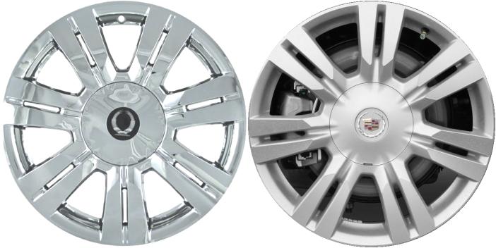 cadillac srx chrome wheel covers 2010 2011 2012 2013. Black Bedroom Furniture Sets. Home Design Ideas