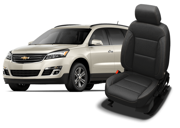 Reupholster your Chevrolet Traverse interior with Katzkin Leather