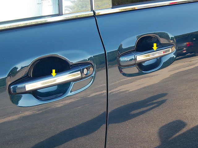 Toyota Sienna Chrome Door Handle Accent Trim