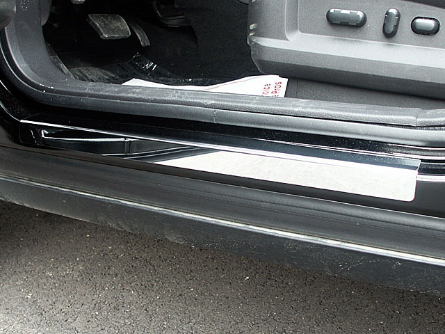Lincoln MKX Stainless Steel Door Sill Trim, 4 Piece Set, 2007   2015
