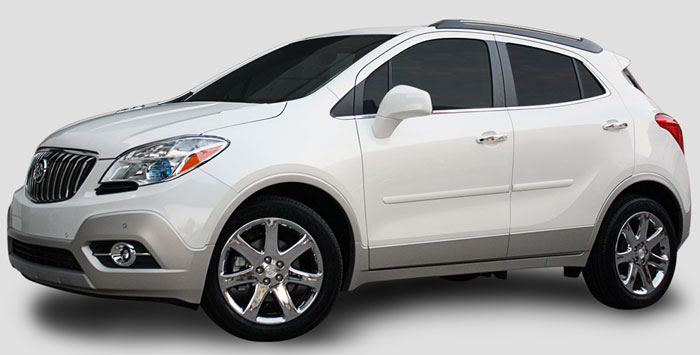 Buick Encore Painted Body Side Moldings