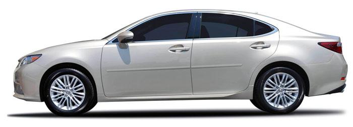 Lexus Es Painted Body Side Moldings 2013 2014 2015