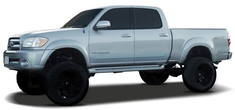 Toyota Tundra Painted Body Side Moldings Lower Door 2007
