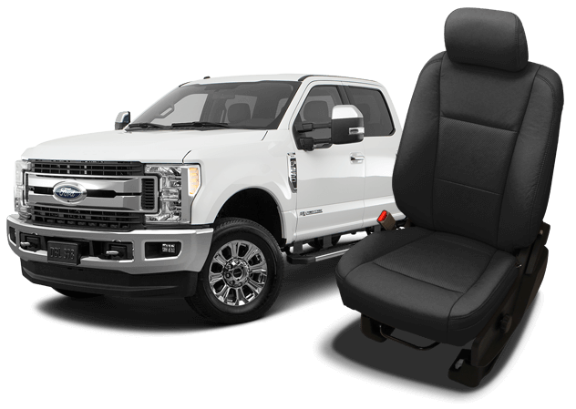 Reupholster your Ford Super Duty with Katzkin Leather