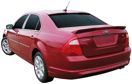 Ford Fusion Roofline Painted Spoiler 2010 2011 2012