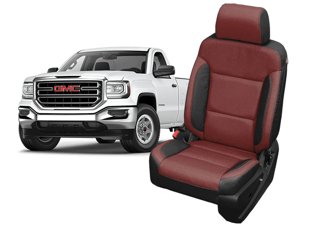 Reupholster your GMC Sierra Double Cab with Katzkin Leather