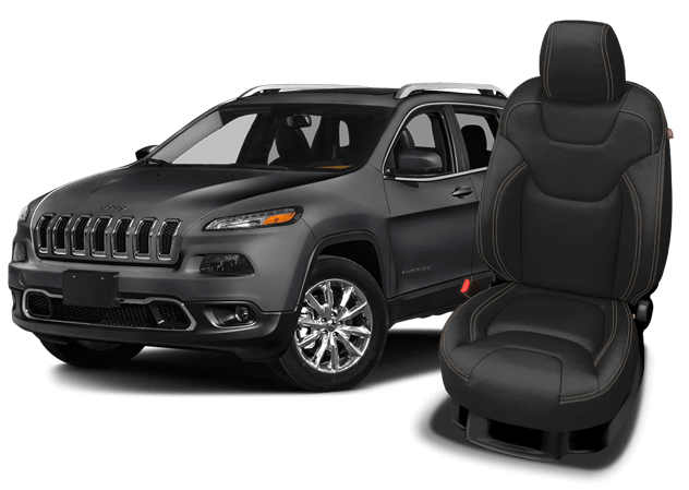 Katzkin Leather replacement seat upholstery for the Jeep ...