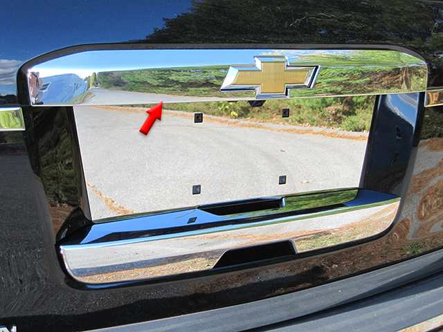 Chevrolet Suburban Chrome Tailgate Hatch Cover 2015 2016