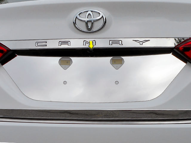 Toyota Camry Chrome License Plate Bezel