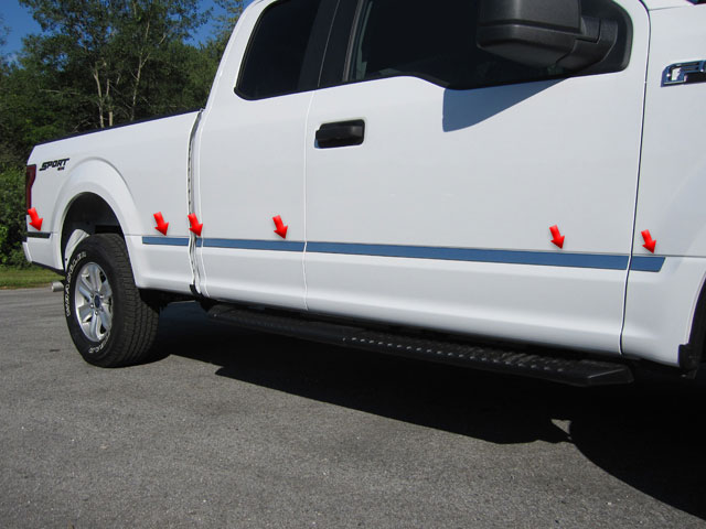 Ford F150 Chrome Molding Insert Trim
