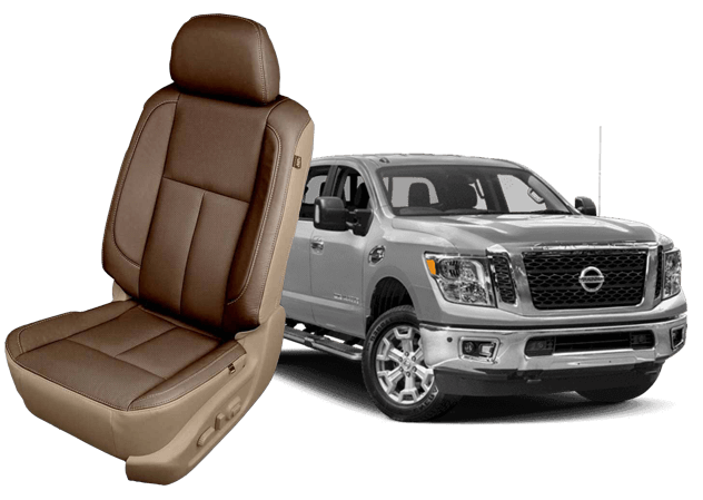 Reupholster your Nissan Titan with Katzkin Leather