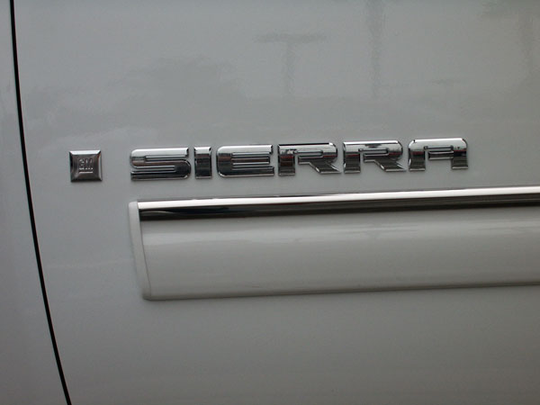 GMC Sierra Stainless Steel Side Accent Trim