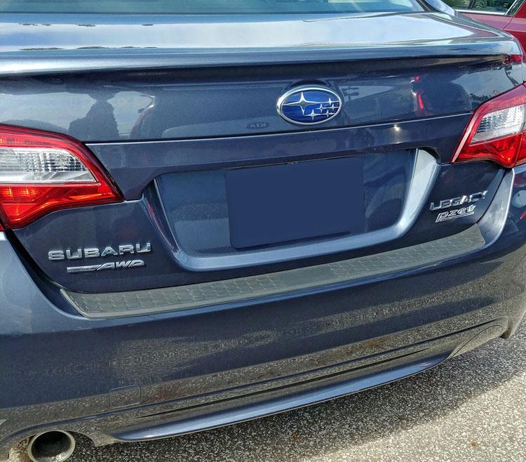 Subaru Legacy Bumper Cover Molding Pad 2010 2011 2012