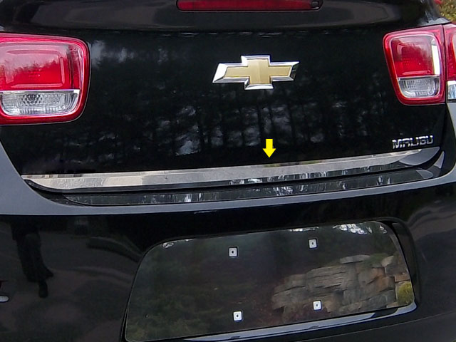Chevrolet Malibu Chrome Rear Deck Trim