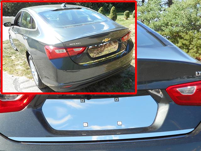 Chevrolet Malibu Chrome Rear Deck Trim 2016 2019