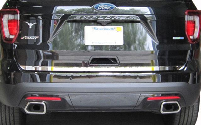 Ford Explorer Chrome Tailgate Trim 2011 2012 2013 2014