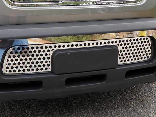 Kia Soul Chrome Front Lower Grille Trim