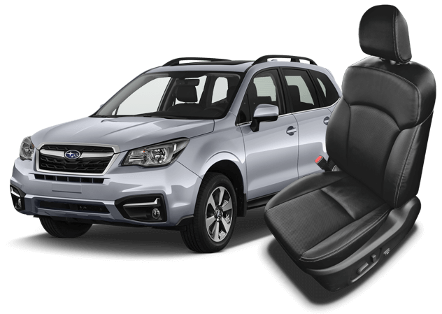 Reupholster your Subaru Forester with Katzkin Leather