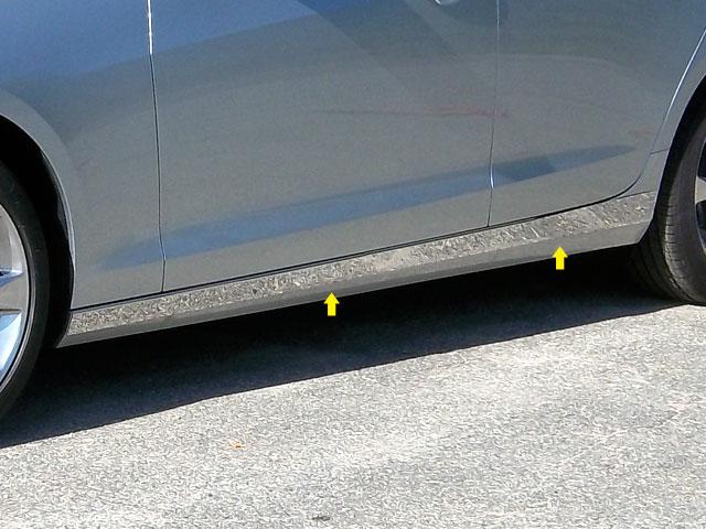 Cadillac Ats Chrome Rocker Panel Trim Below Door 2013