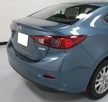 Mazda 3 Lip Mount Painted Rear Spoiler, 2014 - 2018 on