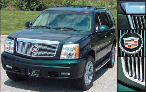 Cadillac Escalade Classic Vertical Grille by E&G CLASSICS, 2002 - 2006