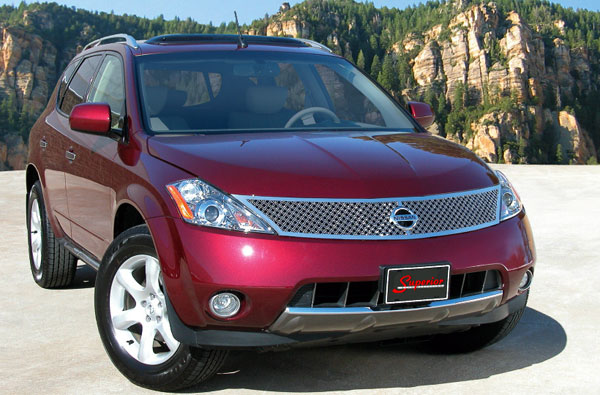 Nissan Murano Dual Weave Mesh Grille By E Amp G Classics 2003