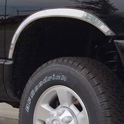 Dodge Ram 2500 3500 Chrome Wheel Well Fender Trim 2010