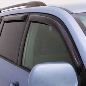 Rain Guards For Trucks >> Jeep Compass Smoke Ventvisor Rain Deflectors 4pc 2011 2018